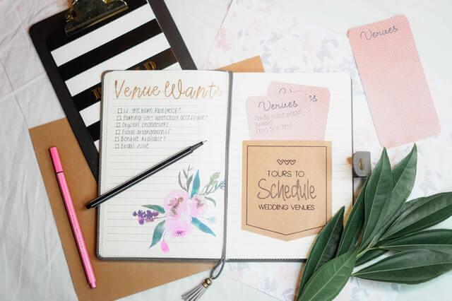 How to Make a Wedding Checklist
